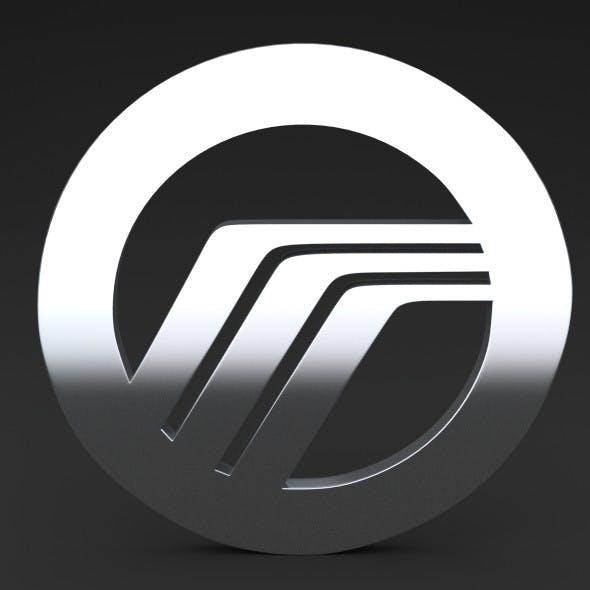 Mercury Logo - 3DOcean Item for Sale
