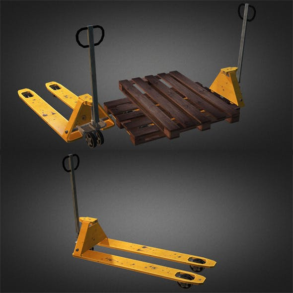 Pallet Truck And Pallet