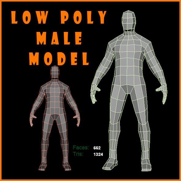 Low Poly Male Model