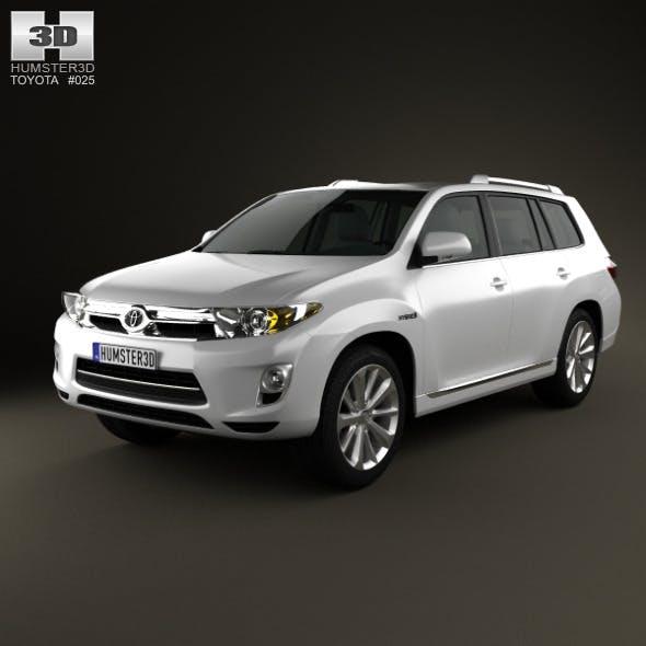 Toyota Highlander Hybrid 2011 - 3DOcean Item for Sale