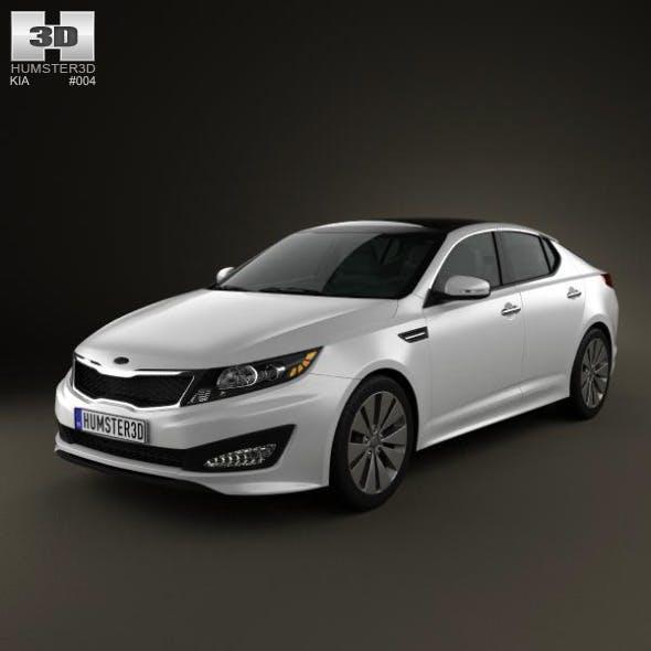 Kia Optima 2011 - 3DOcean Item for Sale