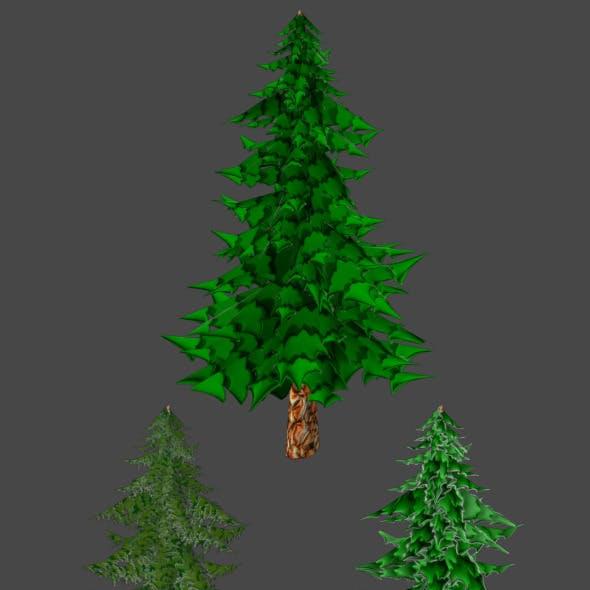 Toon Pine Tree