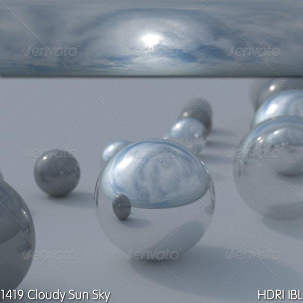 HDRI IBL 1419 Cloudy Sun Sky - 3DOcean Item for Sale