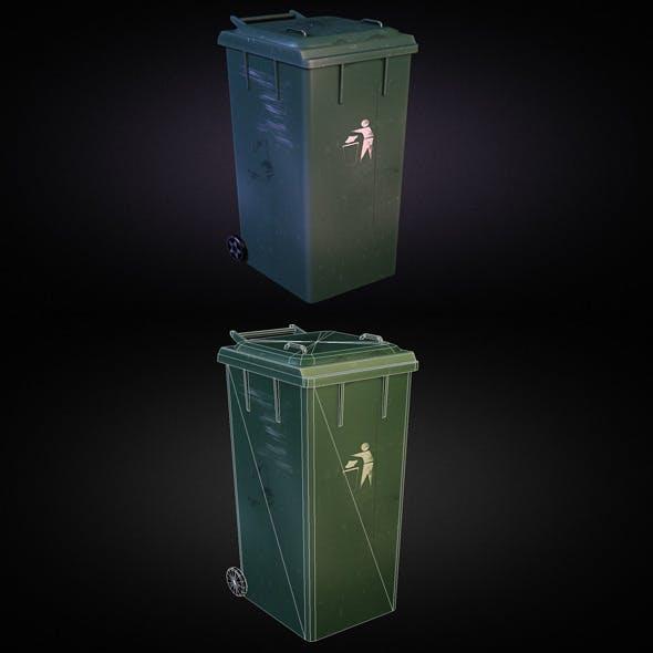 Trash Dumpster 01 - 3DOcean Item for Sale