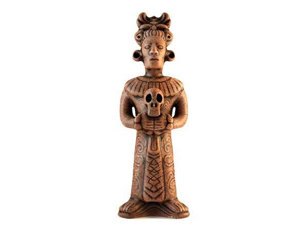 Low Poly Mayan Priest Replica - 3DOcean Item for Sale