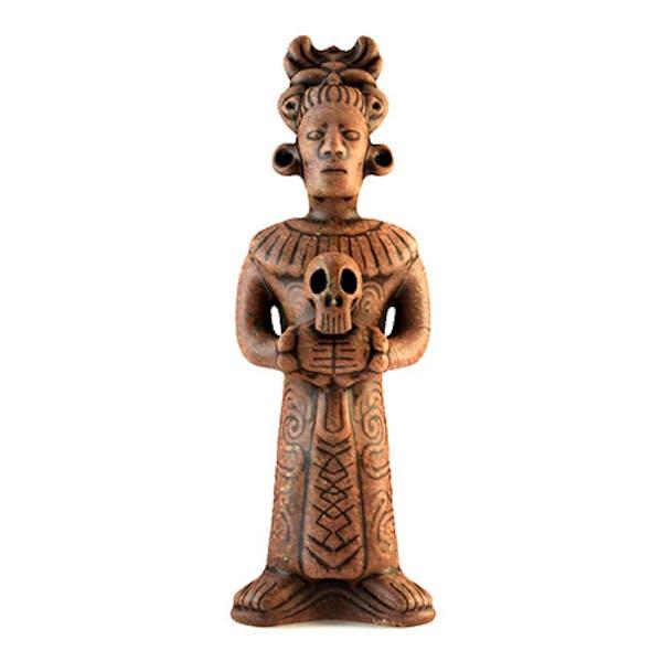 Low Poly Mayan Priest Replica