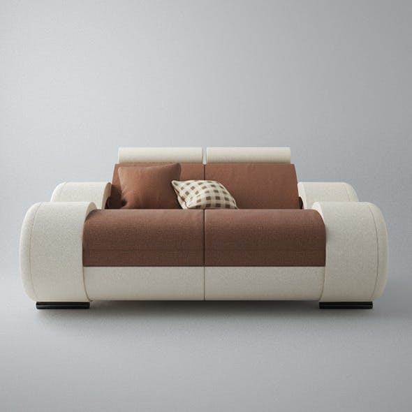 Modern Sofa 2x - 3DOcean Item for Sale