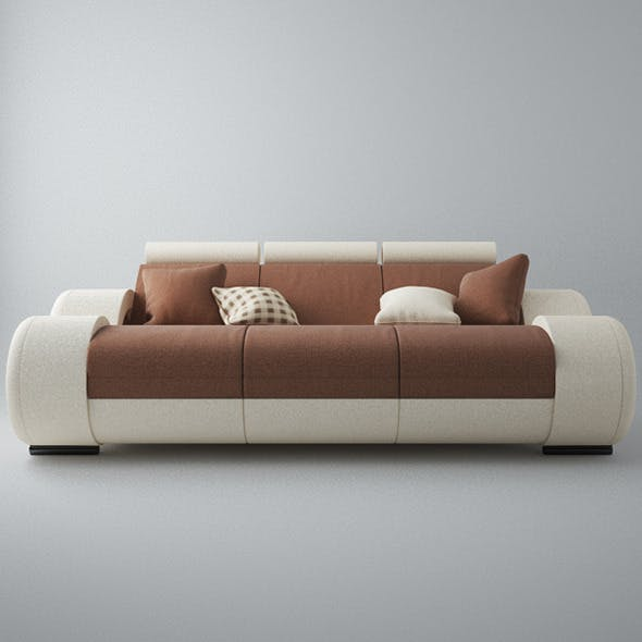 Modern Sofa 3x - 3DOcean Item for Sale