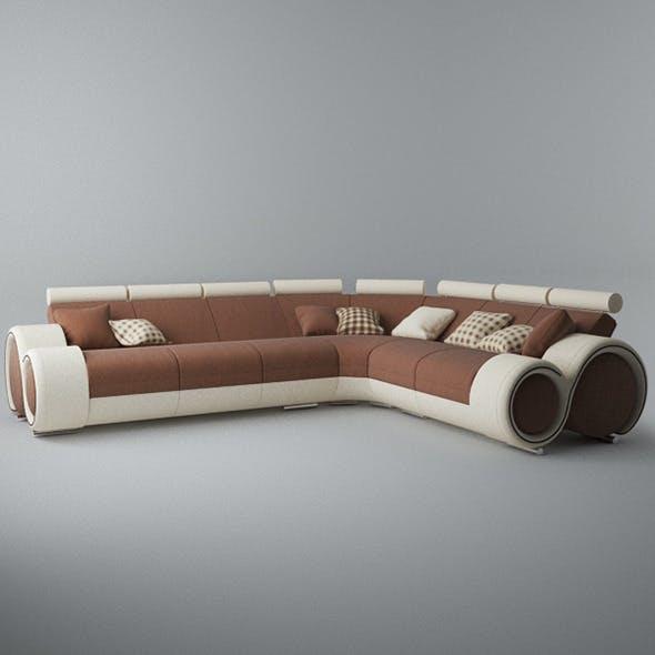 Modern Sofa 6x - 3DOcean Item for Sale