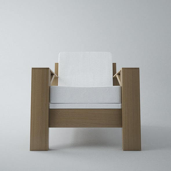 Armchair Carpenter - 3DOcean Item for Sale