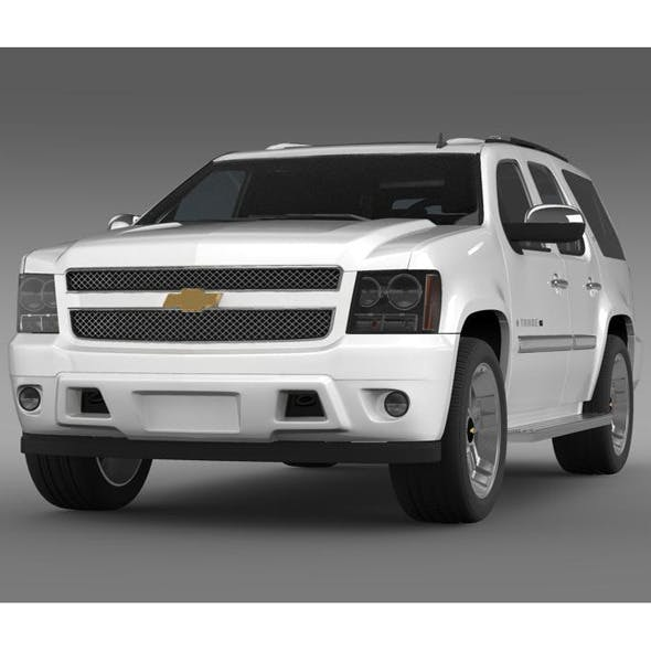 Chevrolet Tahoe XFE 2008 - 3DOcean Item for Sale