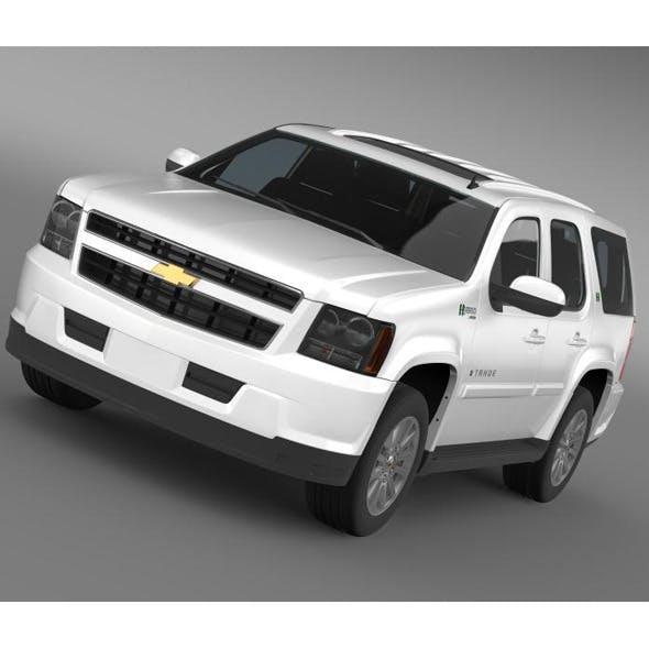 Chevrolet Tahoe Hybrid 2012 - 3DOcean Item for Sale