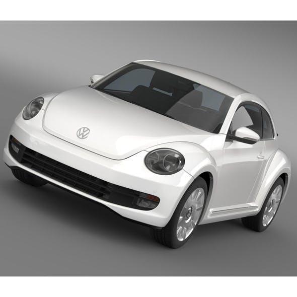 VW I Beetle 2015 - 3DOcean Item for Sale