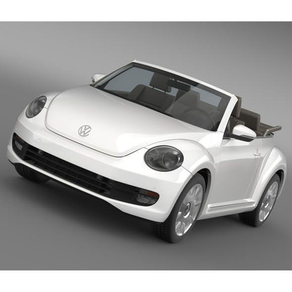 VW I Beetle Cabrio 2015