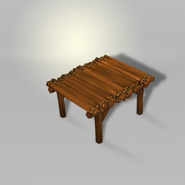 Wood Bright Low Poly -V1