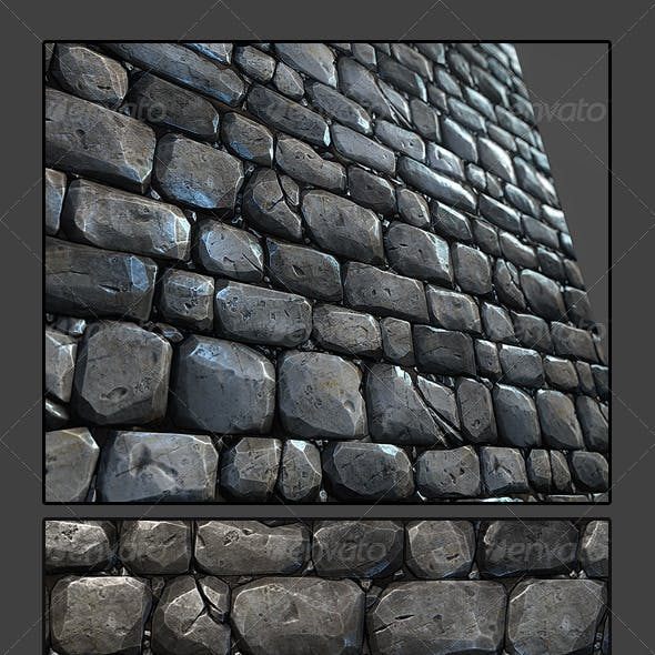 Stone Wall Tile 03