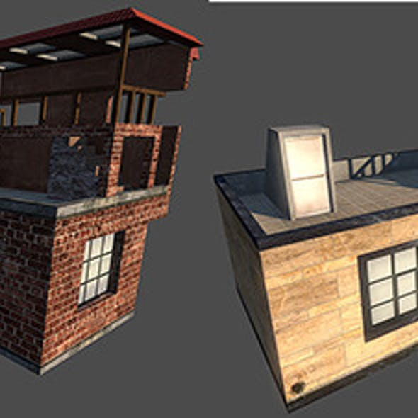 Low Poly Building B