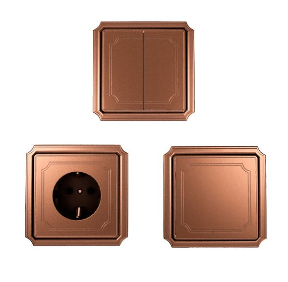 Electric Socket and Switches Merten - 3DOcean Item for Sale