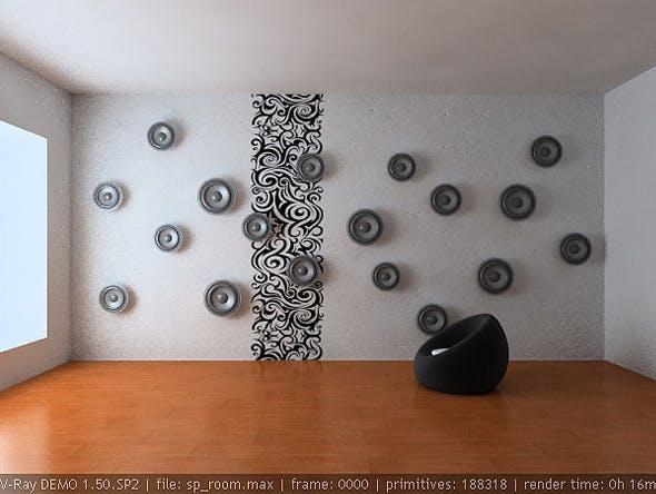 sound room - 3DOcean Item for Sale