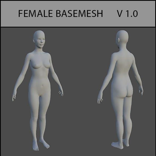 Female Basemesh V 1.0