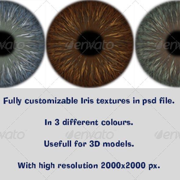 Realistic Iris Texture