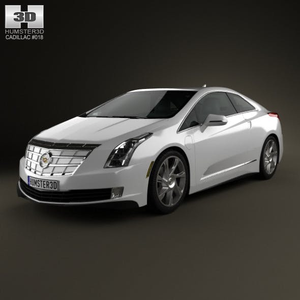 Cadillac ELR 2014 - 3DOcean Item for Sale