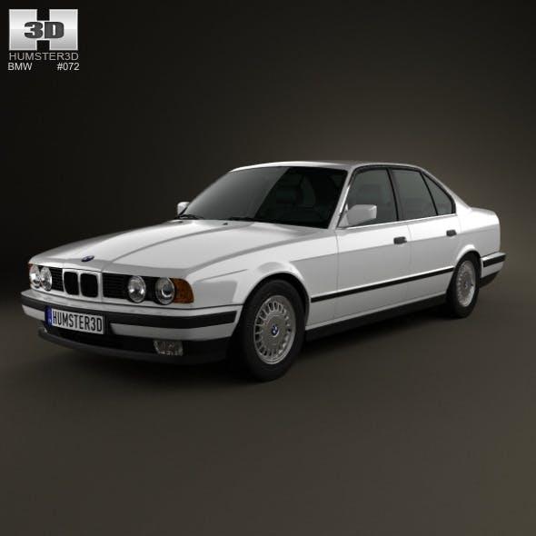 BMW 5 Series sedan (E34) 1993 - 3DOcean Item for Sale