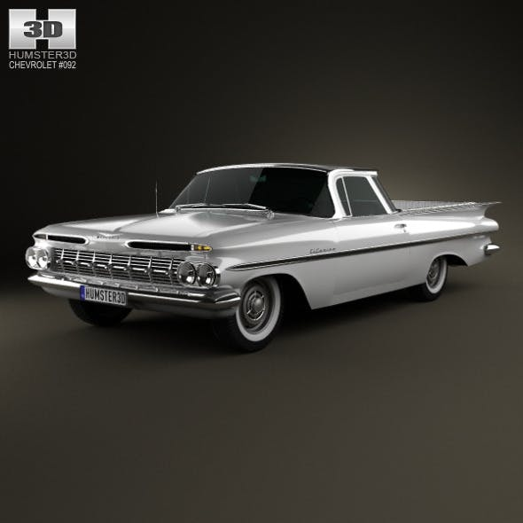 Chevrolet El Camino 1959 - 3DOcean Item for Sale