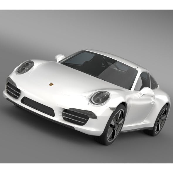 Porsche 911 50 Year Edition (2013) - 3DOcean Item for Sale