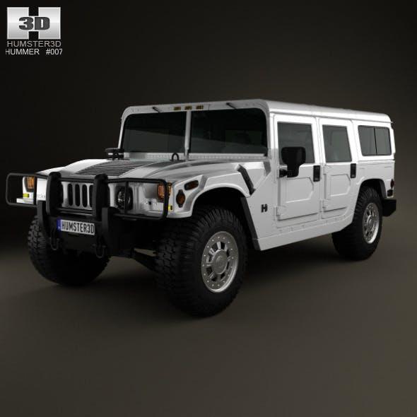 Hummer H1 wagon 2005 - 3DOcean Item for Sale