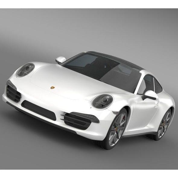 Porsche 911 Carerra 4 2013 - 3DOcean Item for Sale