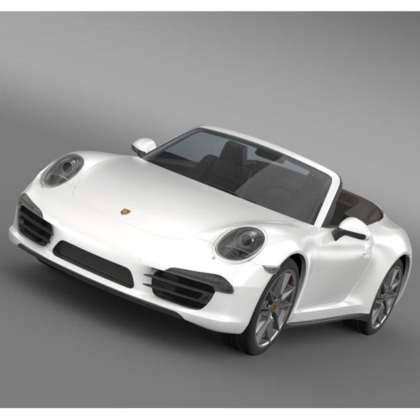 Porsche 911 Carerra 4 Cabrio 2013