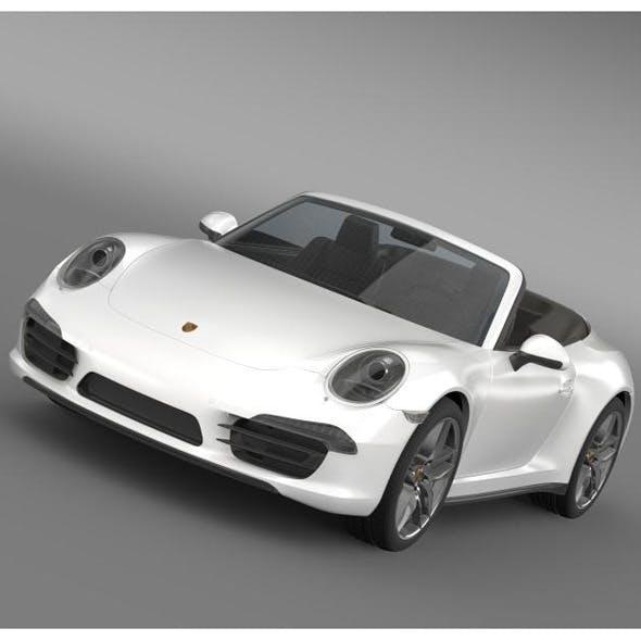 Porsche 911 Carerra Cabrio 2013