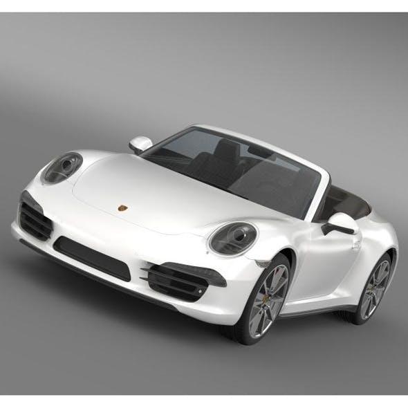 Porsche 911 Carerra s Cabrio 2013 - 3DOcean Item for Sale