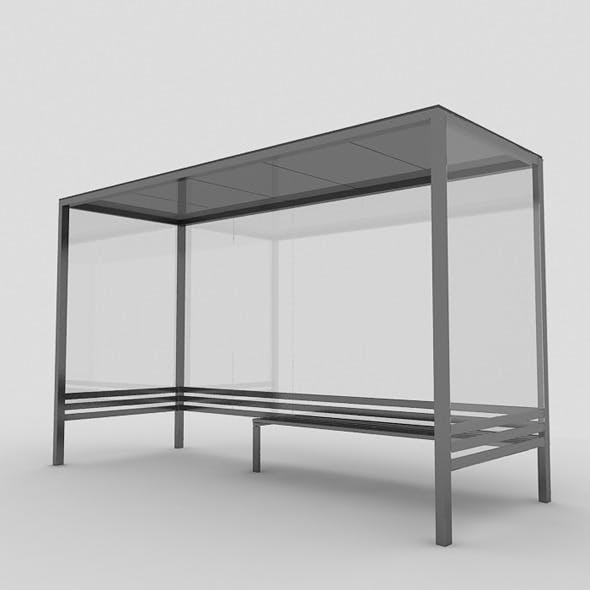 Bus Shelter - 3DOcean Item for Sale