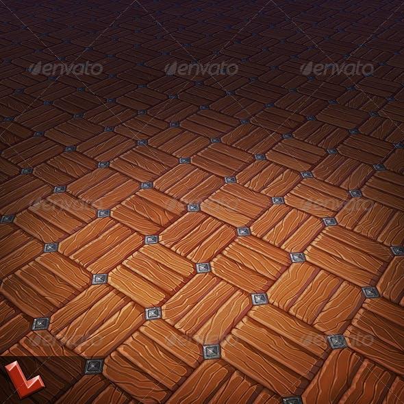 Wooden Floor Tile 04 - 3DOcean Item for Sale