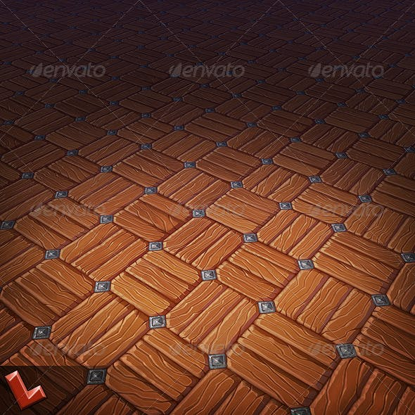 Wooden Floor Tile 04