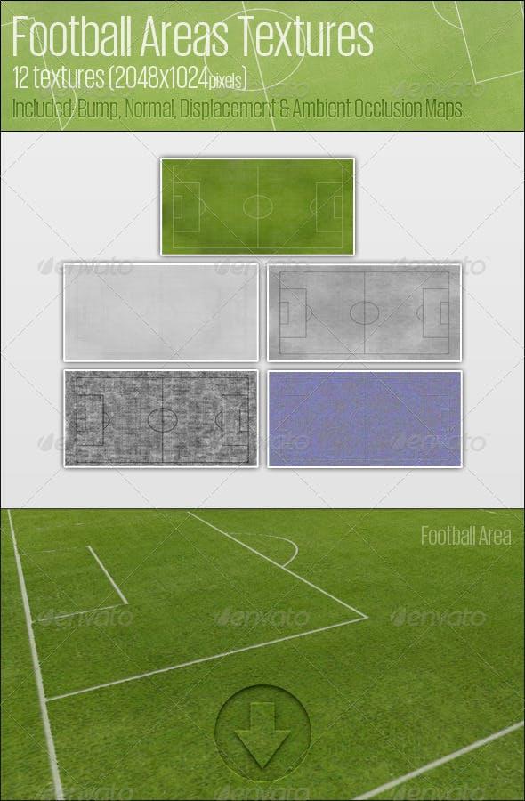 Football Area Textures - 3DOcean Item for Sale