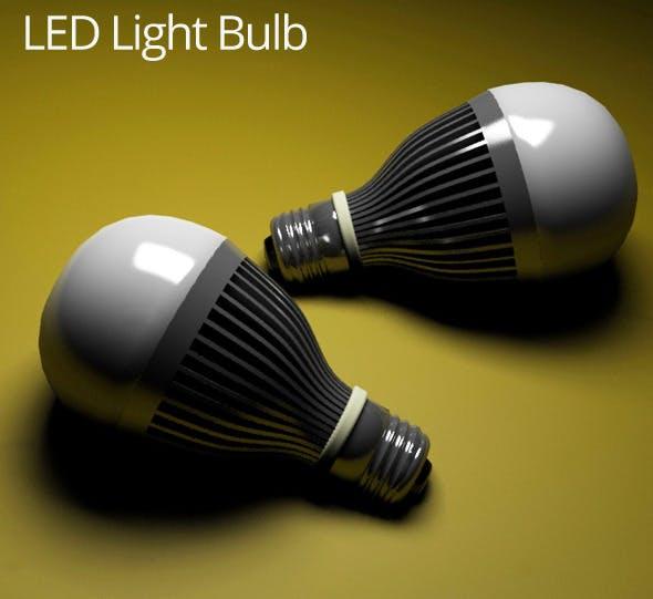 LED Light Bulb - 3DOcean Item for Sale