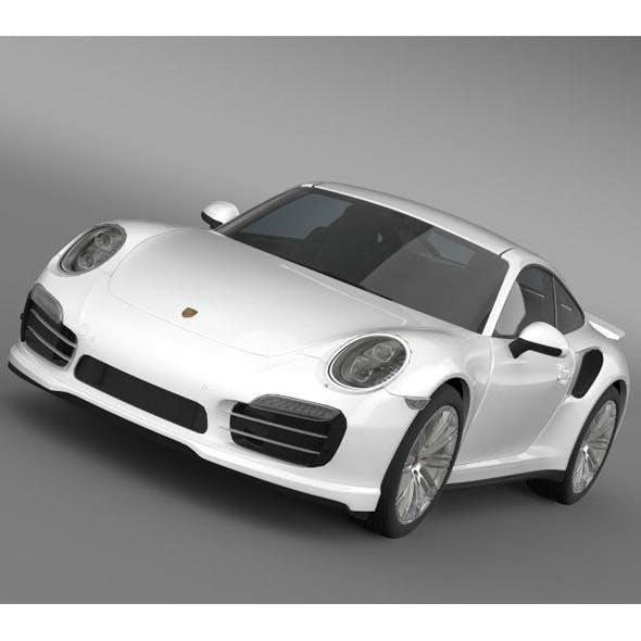 Porsche 911 Turbo 2013 - 3DOcean Item for Sale
