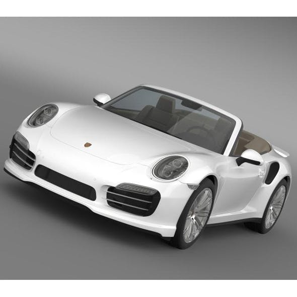 Porsche 911 Turbo Cabrio 2014 - 3DOcean Item for Sale