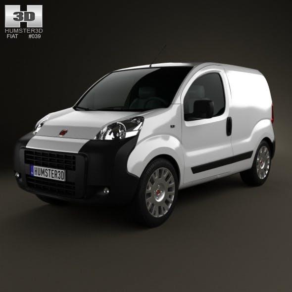 Fiat Fiorino Panel Van 2011 - 3DOcean Item for Sale