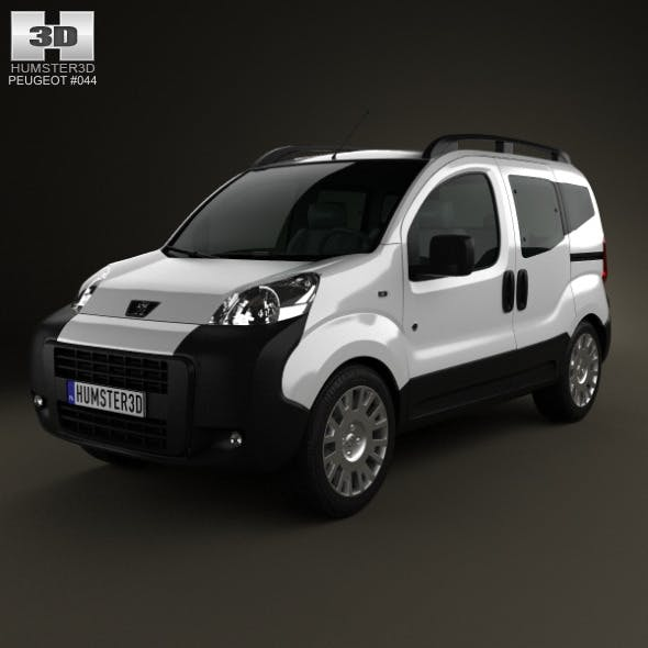 Peugeot Bipper Tepee 2011 - 3DOcean Item for Sale