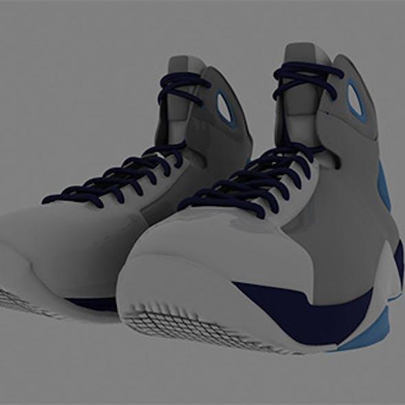 Nike Realistic Sports Shoe Model