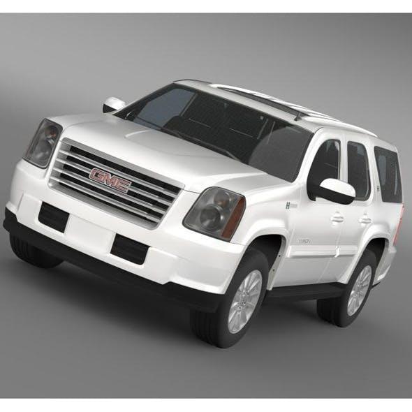 GMC Yukon Hybrid 2013  - 3DOcean Item for Sale