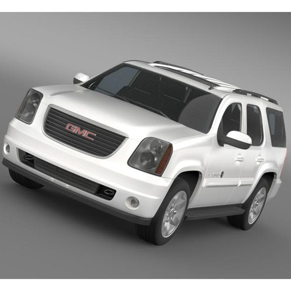 GMC Yukon Heritage Edition 2012  - 3DOcean Item for Sale