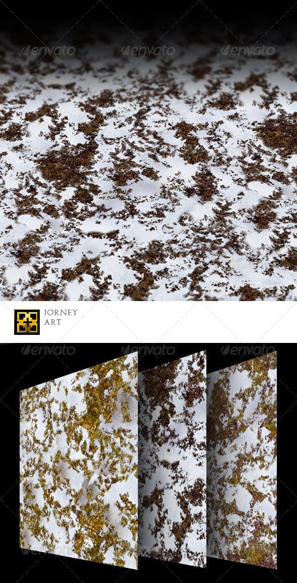 Grass Winter Texture Collection  - 3DOcean Item for Sale