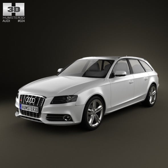 Audi S4 Avant 2011 - 3DOcean Item for Sale