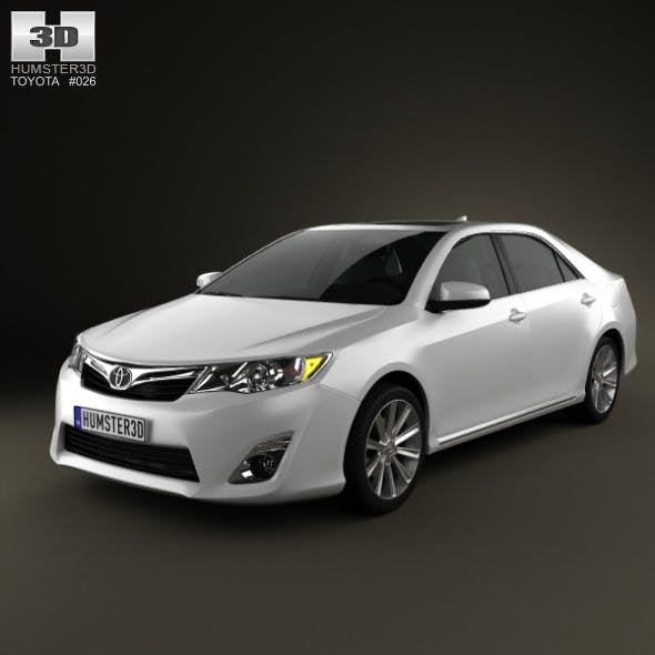 Toyota Camry 2012 US Version - 3DOcean Item for Sale