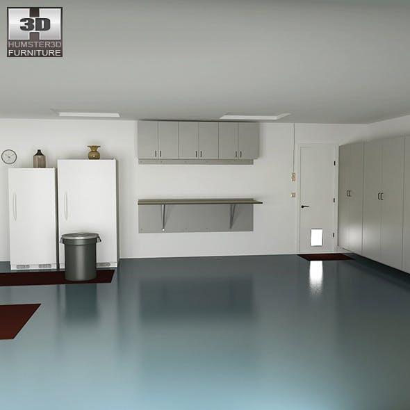 Garage 01 Set - 3DOcean Item for Sale